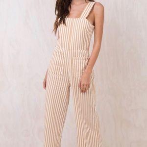 Rollas sailor striped jumpsuit